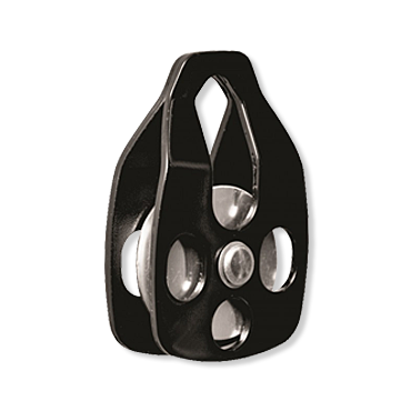 Single pulley black