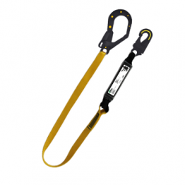 Dielectric Lanyard SRB yellow